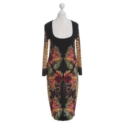 Just Cavalli Kleid mit Muster-Mix