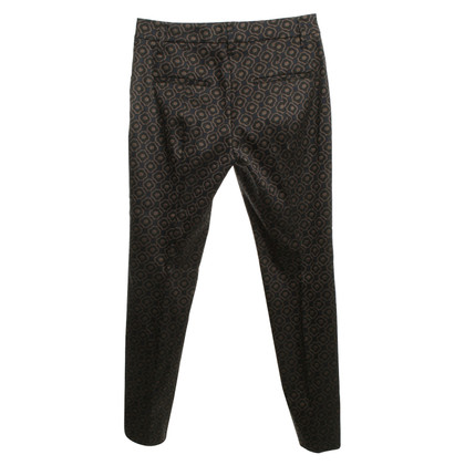 Schumacher trousers with pattern