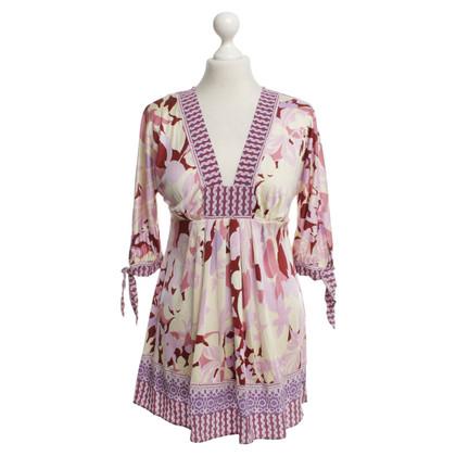Hale Bob Silk tunic with pattern
