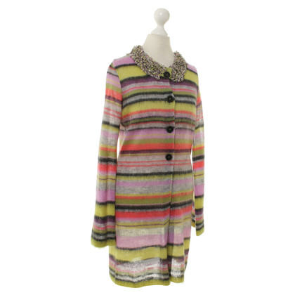 Marc Cain Bunte Strickjacke