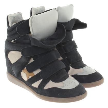 Isabel Marant Sneaker wedges in Beige / Black