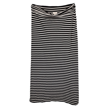 J. Crew skirt in black and white