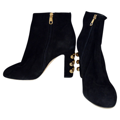 Dolce & Gabbana Passamaneria ankle boots
