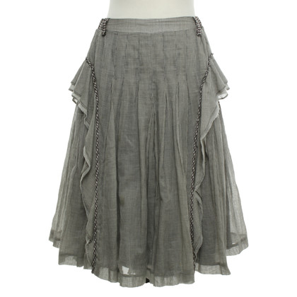Wunderkind skirt with checked pattern