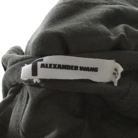 Kleid T Maxi by Khakifarbenes by Alexander Khaki Alexander Wang Maxi Wang T Khakifarbenes by T Khaki Kleid BZqxwRnS