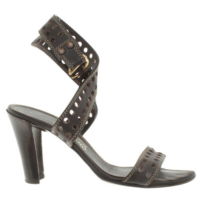 Salvatore Ferragamo Sandaletten aus Leder
