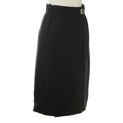 Lanvin Wrap-around rok wol