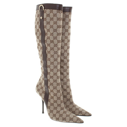Gucci Stiefel mit Muster