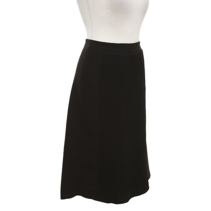 Jean Paul Gaultier skirt in black