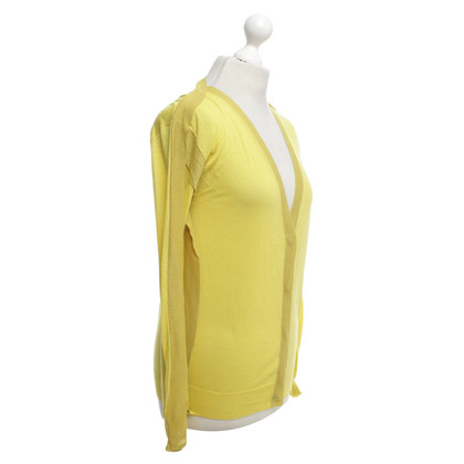 Cacharel giallo Strickcardigan