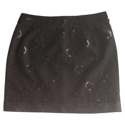See by Chloé Black Mini-Skirt