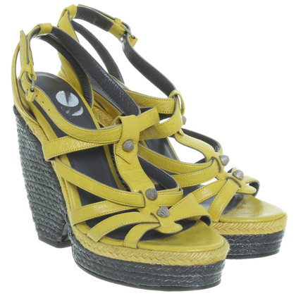 Balenciaga Sandals in yellow