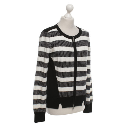 Karen Millen Cardigan in black / white