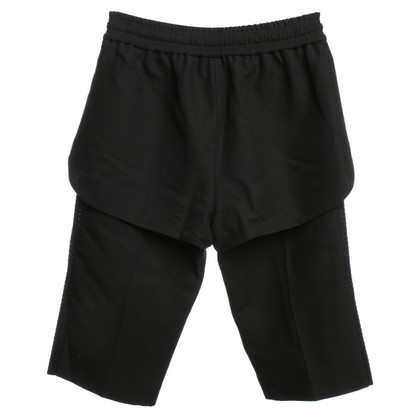 Alexander Wang Doppellagige Shorts in Schwarz
