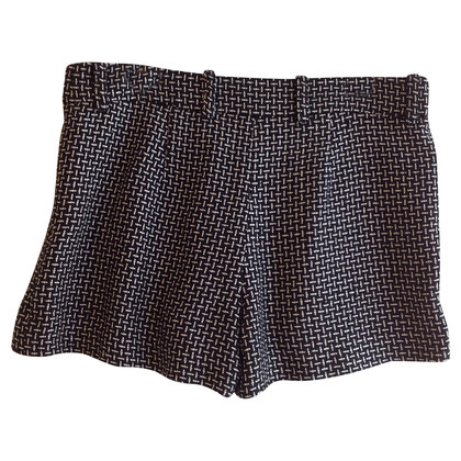 Diane von Furstenberg Shorts in black and white