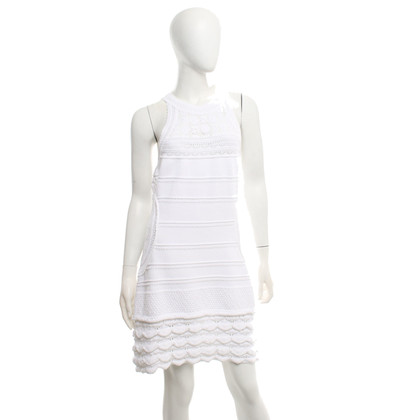Roberto Cavalli Knit dress in white