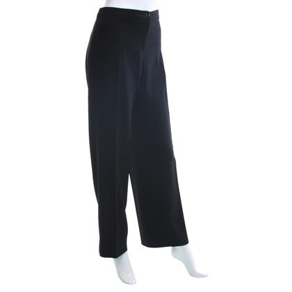 Armani Collezioni Pantaloni larghi in nero