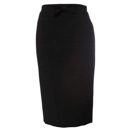 Burberry black skirt with bow