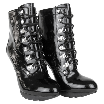 Karen Millen Ankle boots patent leather
