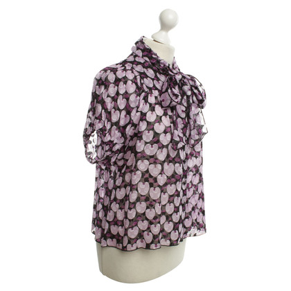 Anna Sui Blouse with pattern print