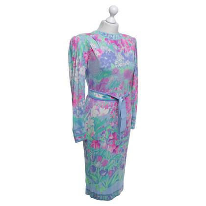 Leonard Kleid mit floralem Muster