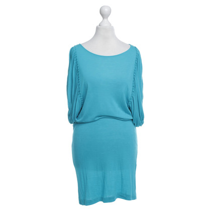 By Malene Birger Playful dress in turquoise