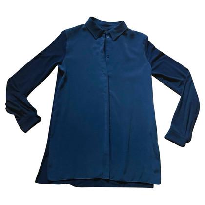 Max Mara Blue viscose shirt
