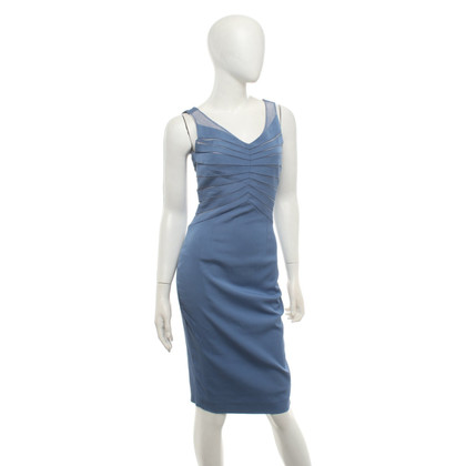 Reiss Vestito aderente in blu / crema