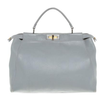 "Fendi ""Peekaboo Bag Large"" in Grau"