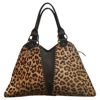 Fendi Handbag with animal print