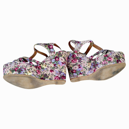 Other Designer Jeffrey Campbell - floral wedges