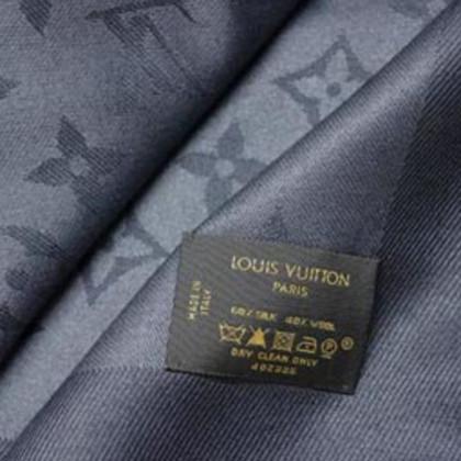 Louis Vuitton Monogramdoek in antraciet