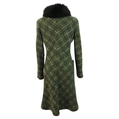 Valentino Coat with fox fur collar