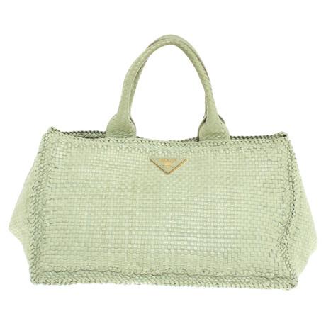 Prada Madras Bag Grün Wo Niedrigen Preis Kaufen Freie Verschiffen-Spielraum Günstig Kaufen Ausgezeichnet Spielraum Angebote S0ZEI
