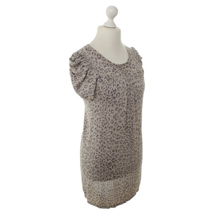 Rebecca Taylor Luipaard print jurk