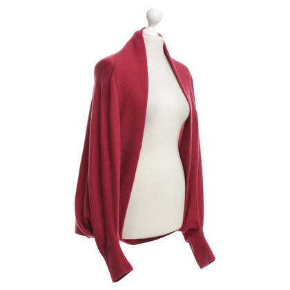 Malo Cashmere cardigan in red