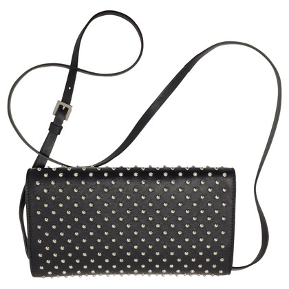 Alexander McQueen Black studded bag