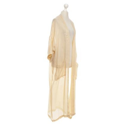 Gestuz Kimono in Metallic-Optik