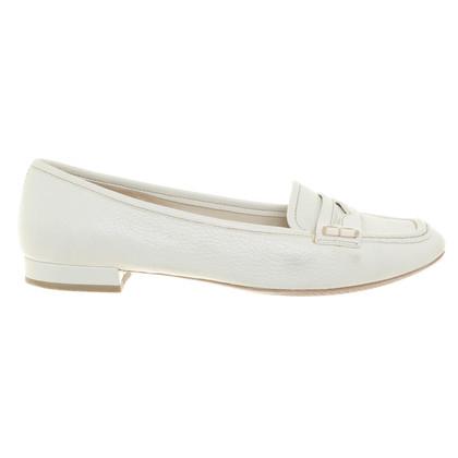 Prada Ballerinas in Weiß