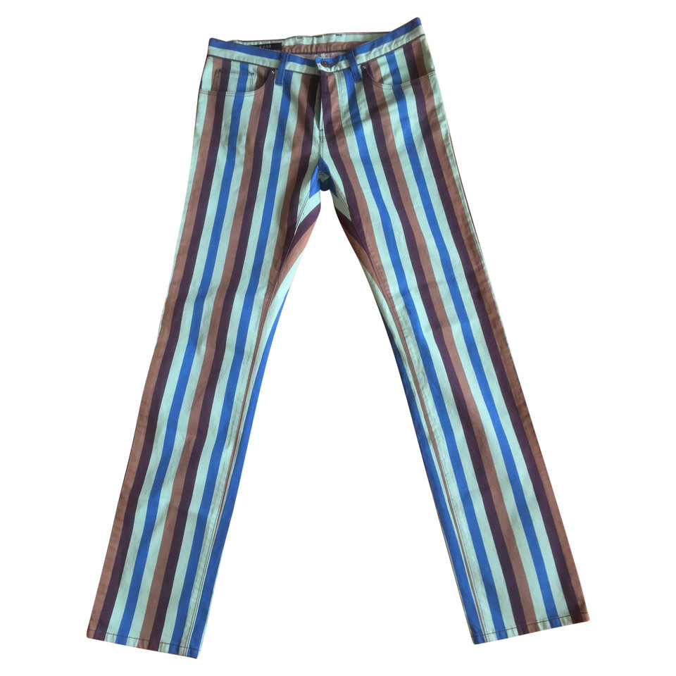 Gucci trousers with striped pattern