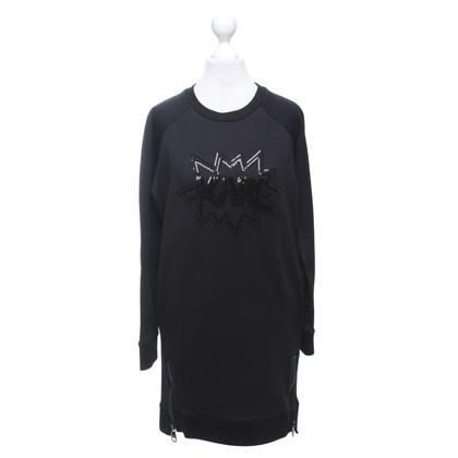 Karl Lagerfeld Robe Sweat en noir