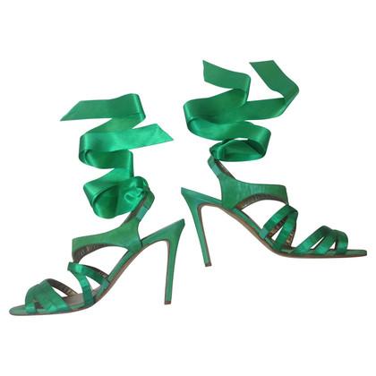 Oscar de la Renta Green sandals