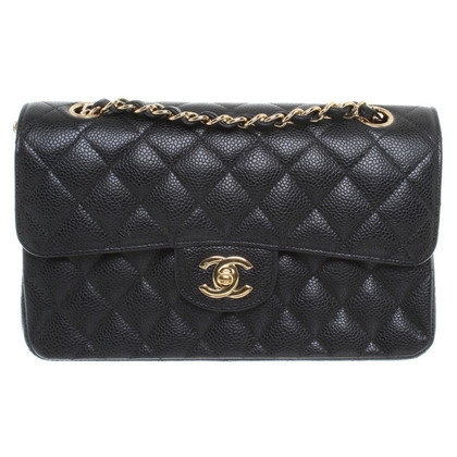 "Chanel ""Bb3e71dc Small"" Caviar Leather"