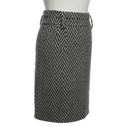 Sonia Rykiel skirt in black / beige