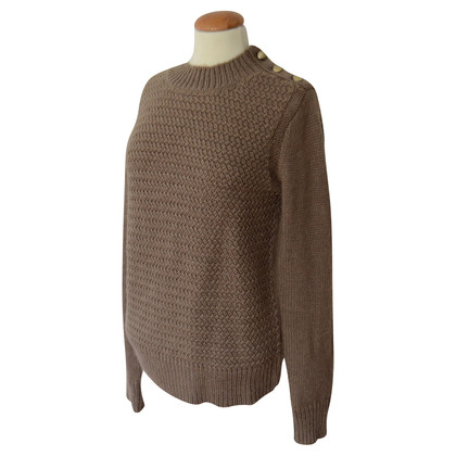 Bruuns Bazaar Knit sweater in Taupe
