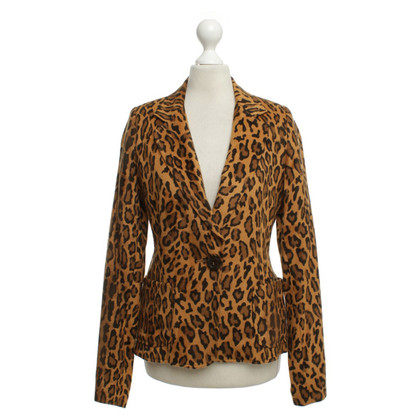 Moschino Blazer met animal print