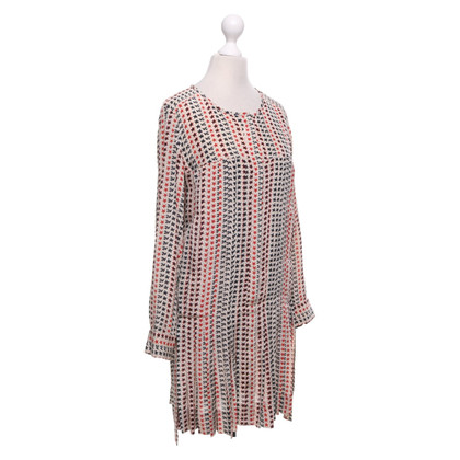 Isabel Marant Silk dress with pattern