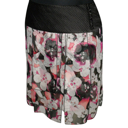 Diane von Furstenberg Silk skirt with print