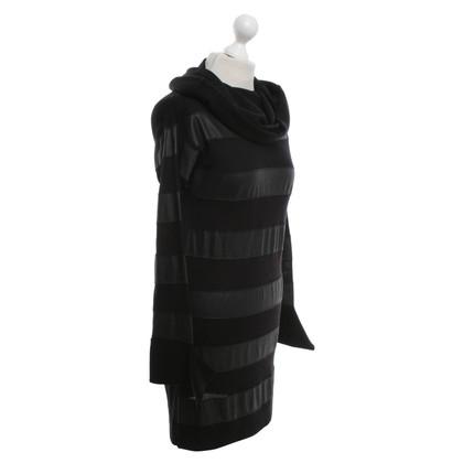 Patrizia Pepe vestito maglia in nero