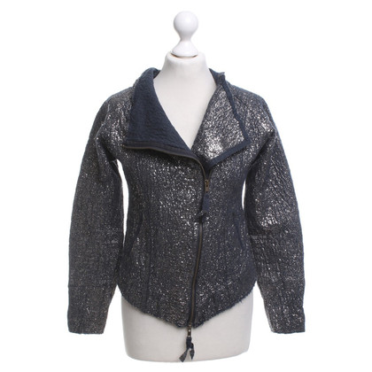 Humanoid Jacket in silver / blue